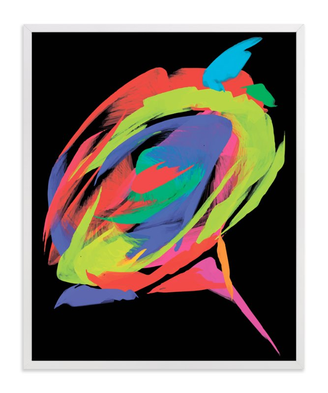 """""""Exotic rose"""" - Art Print by Tatyana Hanenko in beautiful frame options and a variety of sizes."""