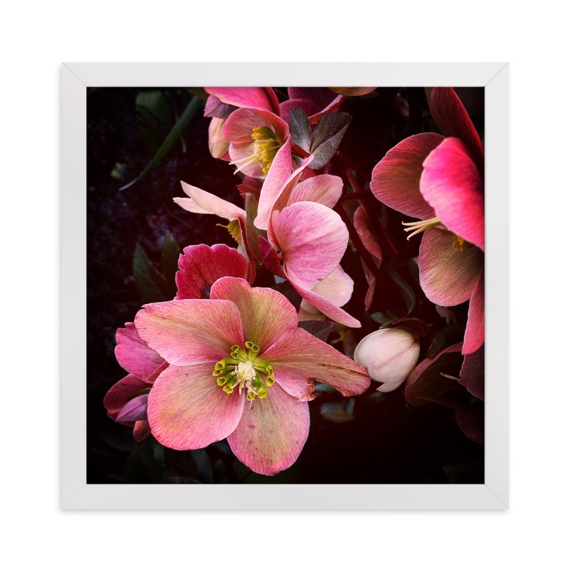 """""""Spring Noir 3"""" - Art Print by Sarah Johnson in beautiful frame options and a variety of sizes."""