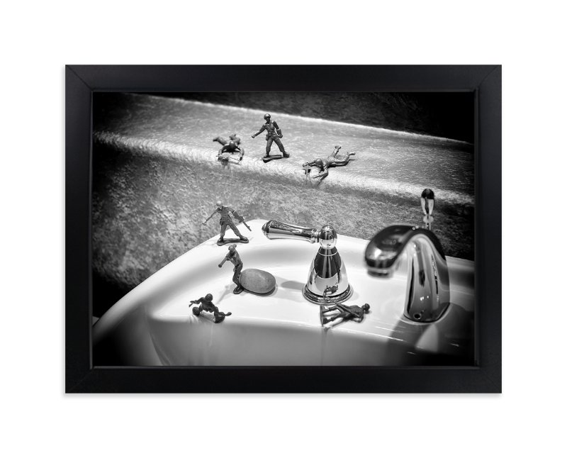 """""""Toy Soldier"""" - Art Print by Michelee Scott in beautiful frame options and a variety of sizes."""