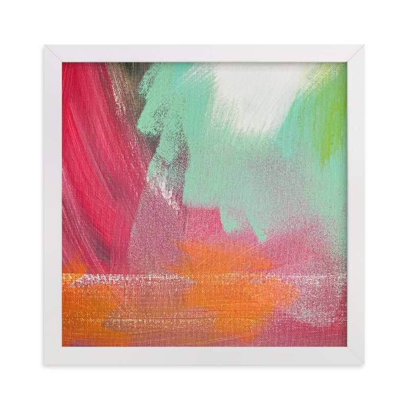"""We are Blending"" - Art Print by Stacy Kron in beautiful frame options and a variety of sizes."