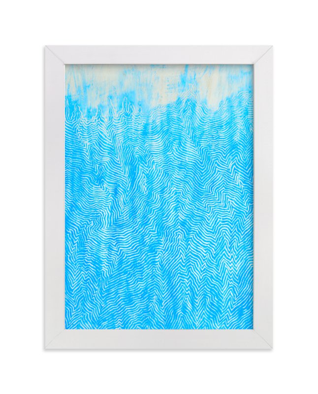 """""""Serenity I"""" - Art Print by Pooja Pittie in beautiful frame options and a variety of sizes."""