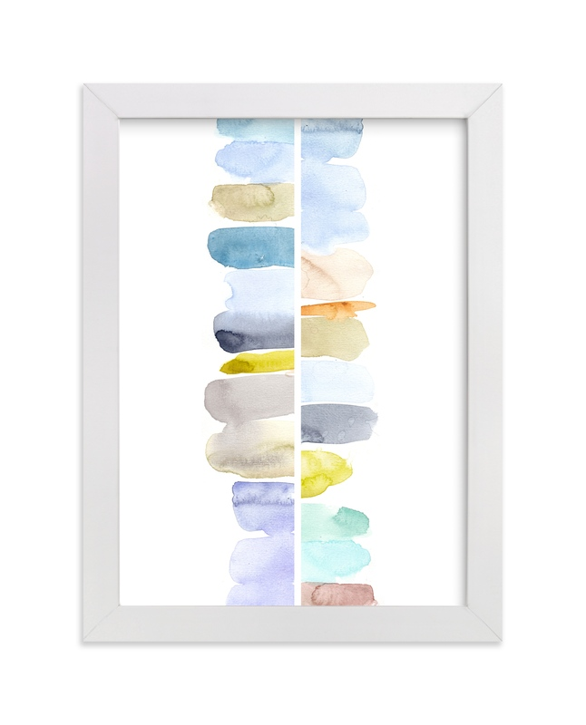 """Totem"" - Art Print by Jocelyn Edin in beautiful frame options and a variety of sizes."