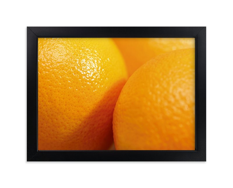 """Orange Is The New Black"" - Art Print by Laura Hamm in beautiful frame options and a variety of sizes."