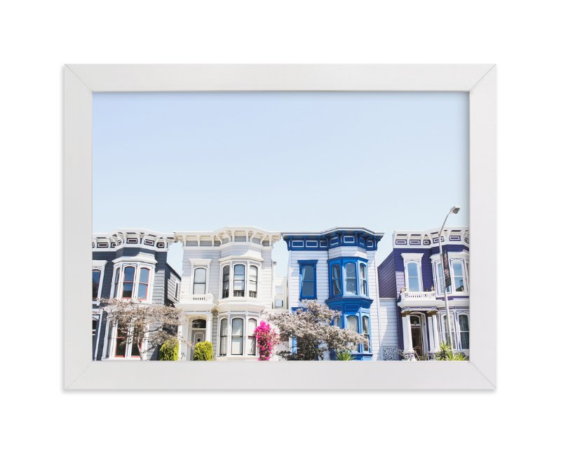 """Painted Ladies"" - Art Print by Annie Montgomery in beautiful frame options and a variety of sizes."