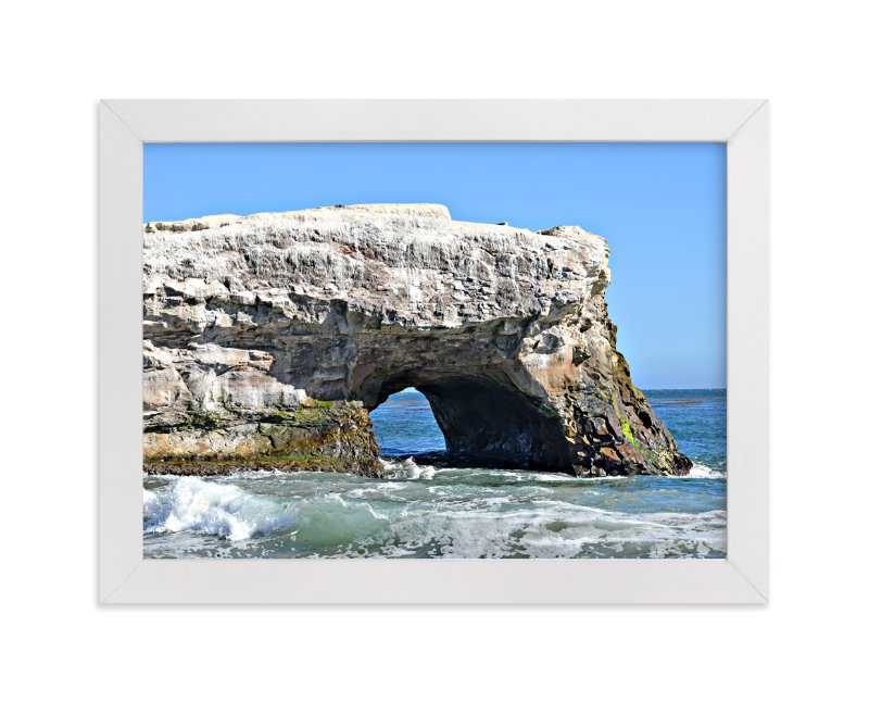 """""""Natural Bridge"""" - Art Print by NSMARK in beautiful frame options and a variety of sizes."""