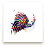 Dancing Bird by Sara Shashani