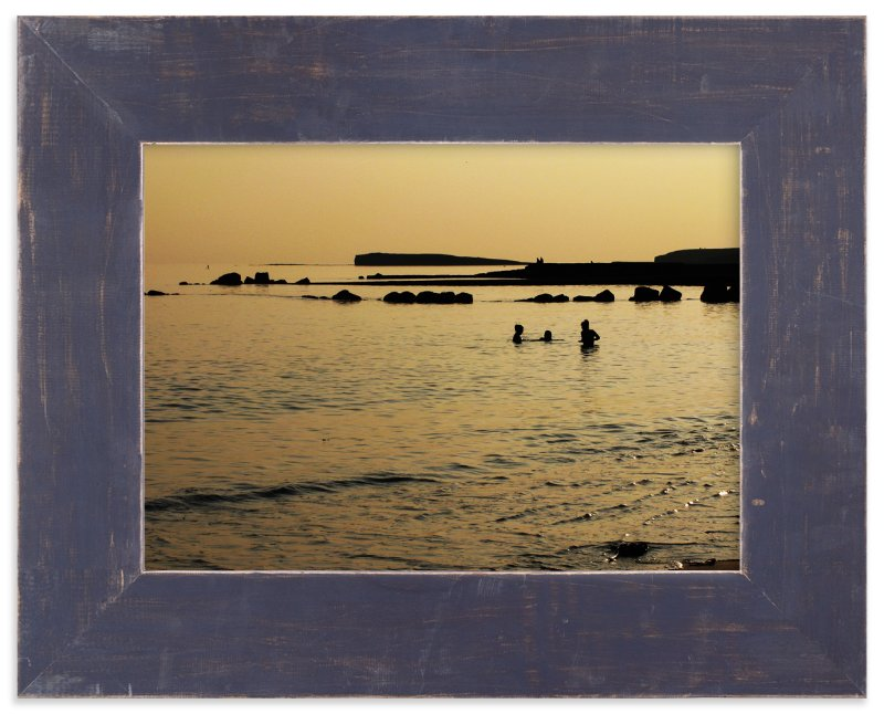 """""""Golden Galway Bay"""" - Art Print by Sonya F. Contino in beautiful frame options and a variety of sizes."""