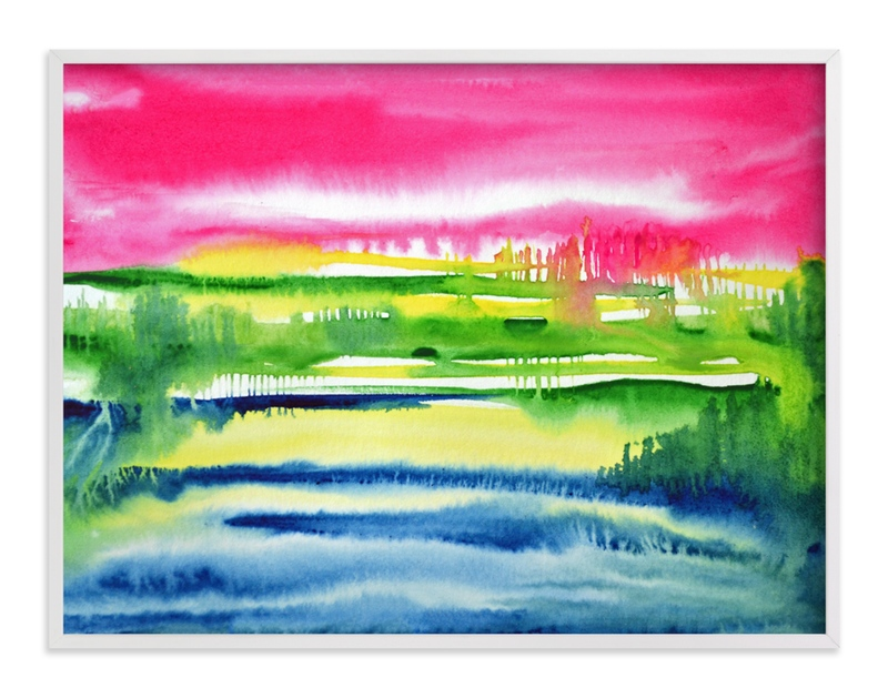 """""""Colours of Nature"""" - Art Print by Nikita Jariwala in beautiful frame options and a variety of sizes."""