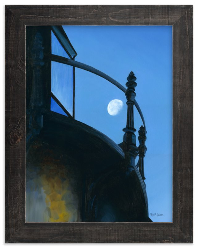 """""""Quarters"""" - Art Print by Robert Deem in beautiful frame options and a variety of sizes."""