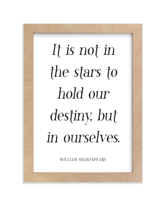 """""""To Hold Our Destiny"""" - Art Print by Gray Star Design in beautiful frame options and a variety of sizes."""