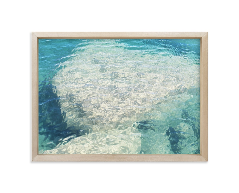 """""""Above and Below"""" - Art Print by Karen Kaul in beautiful frame options and a variety of sizes."""