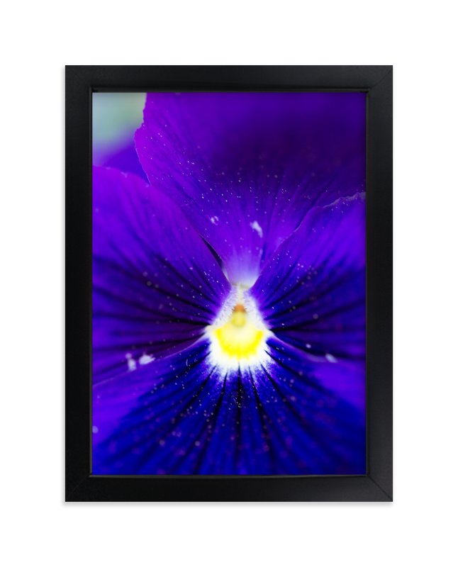 """Purple Velvet"" - Art Print by Giulia Doyle in beautiful frame options and a variety of sizes."