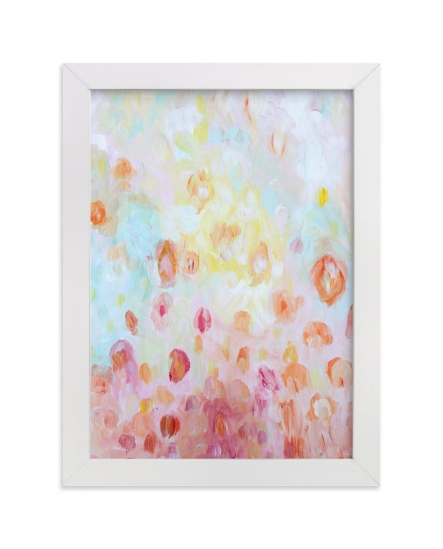 """Spring Day"" - Art Print by Debra Butler in beautiful frame options and a variety of sizes."
