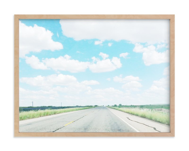 """""""Eastbound Through West Texas"""" - Art Print by Kate Wong in beautiful frame options and a variety of sizes."""
