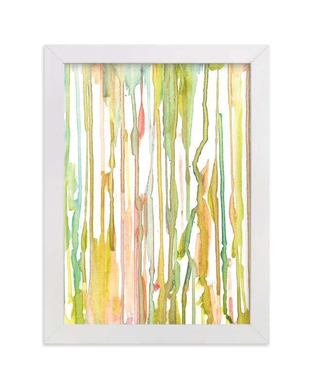 """stripes painting"" - Art Print by aticnomar in beautiful frame options and a variety of sizes."