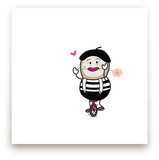 Duckenov as a Mime on a... by PotatoMuffin