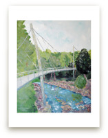 Falls Park on the Reedy Wall Art Prints