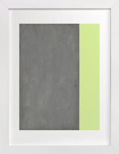 Urban Chartreuse  Art Print