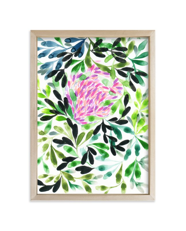 """Clover"" - Art Print by Anna Marie Farmer in beautiful frame options and a variety of sizes."