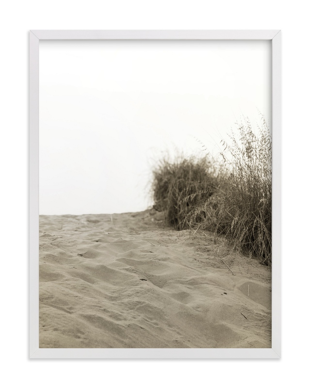 """""""Dune"""" - Art Print by Ashleigh Ninos in beautiful frame options and a variety of sizes."""