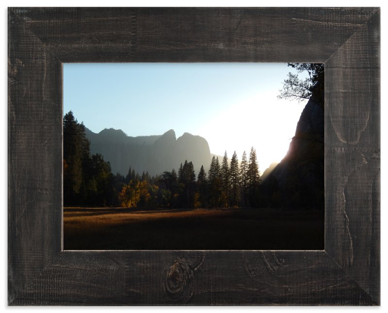 """Yosemite Sunset"" - Art Print by Jan Kessel in beautiful frame options and a variety of sizes."