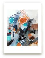 """Architectural"" Abstrac... by Melanie Biehle"