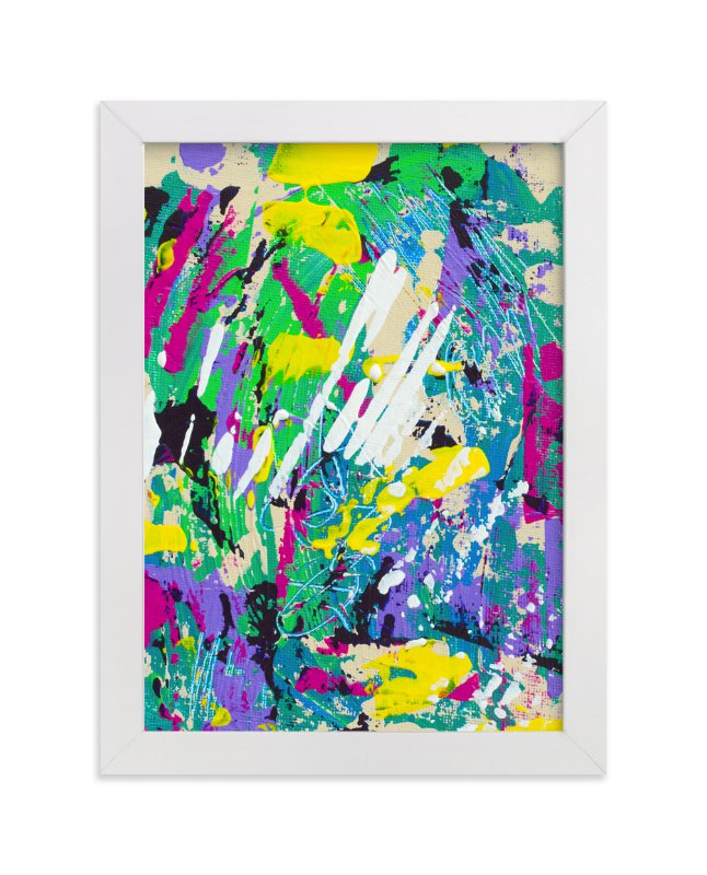 """Color Burst I"" - Art Print by Pooja Pittie in beautiful frame options and a variety of sizes."