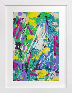 Color Burst I  Art Print