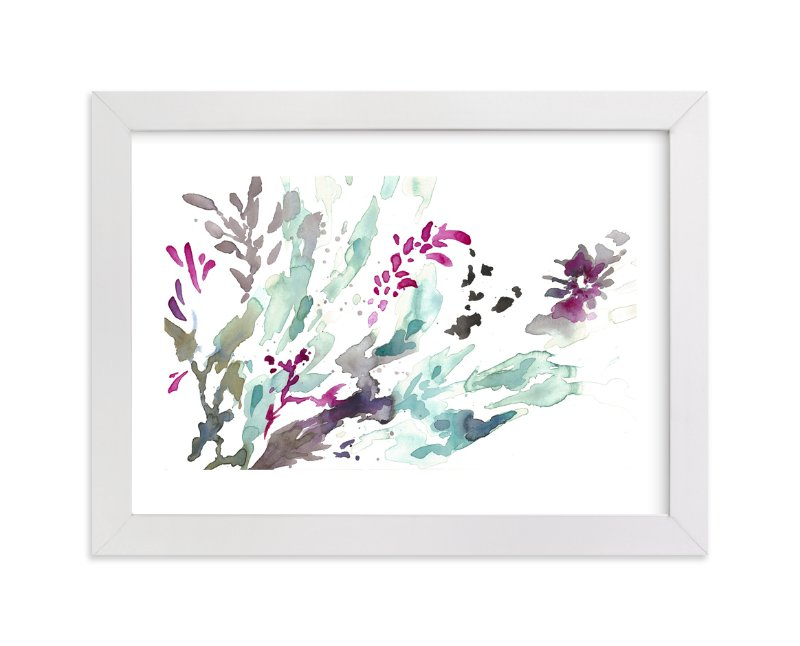"""""""Upon Waking"""" - Art Print by Mya Bessette in beautiful frame options and a variety of sizes."""