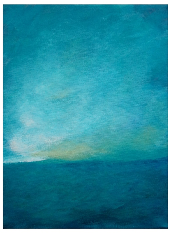 """""""Storm Break"""" - Art Print by Christy Sheehan in beautiful frame options and a variety of sizes."""