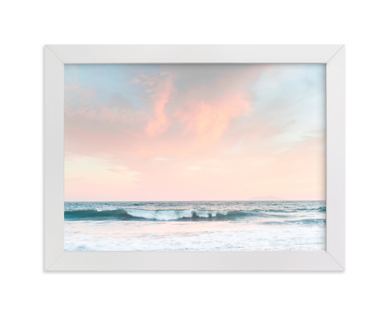 """""""SoCal Sonata"""" - Art Print by Kamala Nahas in beautiful frame options and a variety of sizes."""