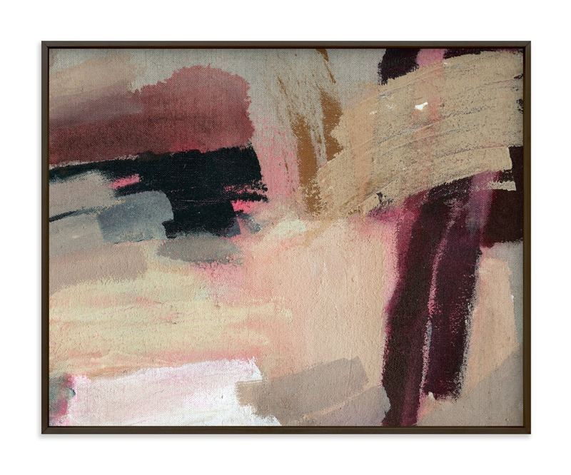 """""""Pink Lush"""" - Art Print by Lauren Packard in beautiful frame options and a variety of sizes."""