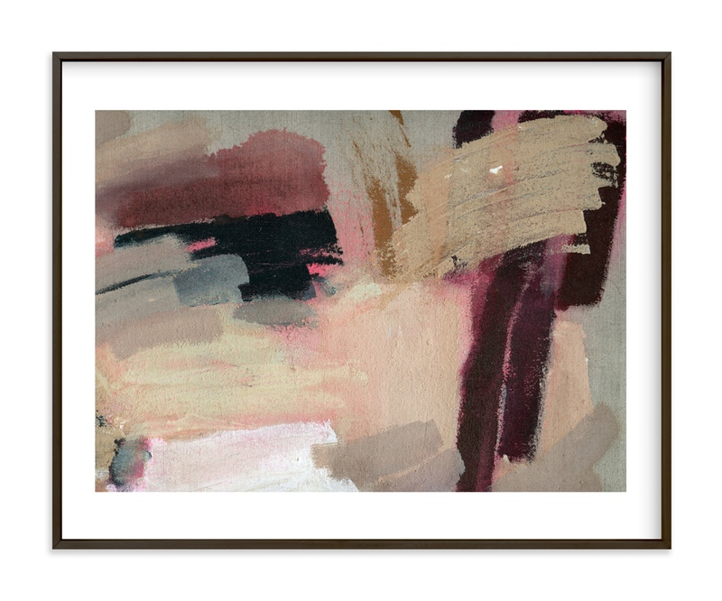 """Pink Lush"" - Art Print by Lauren Packard in beautiful frame options and a variety of sizes."