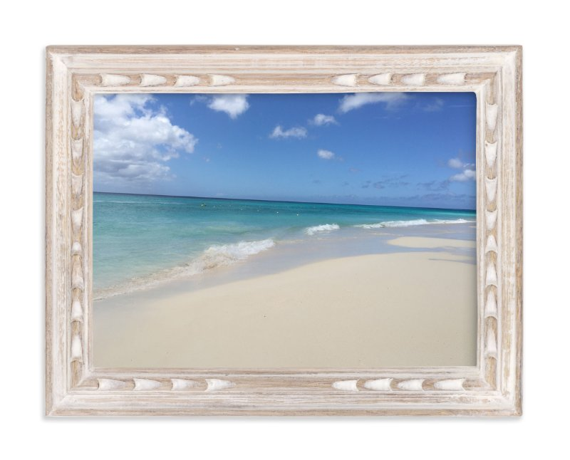 """""""Thee Big Blue Splash"""" - Art Print by CaroleeXpressions in beautiful frame options and a variety of sizes."""