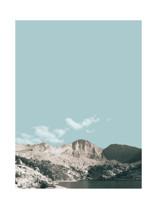 Sierra Daydream Marketplace Art Print