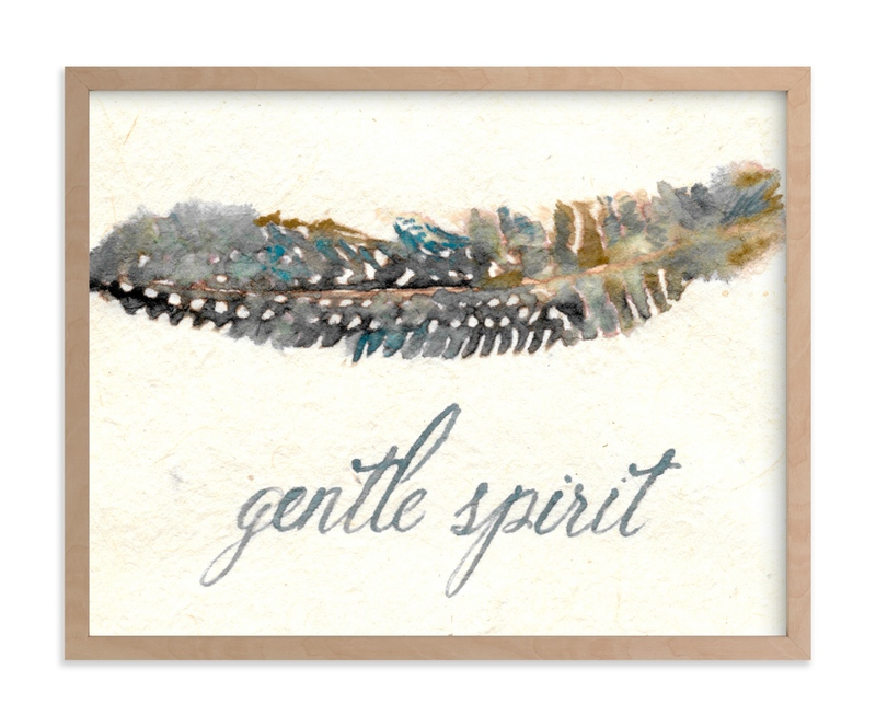 """""""Gentle Spirit"""" - Art Print by Stephanie Toral in beautiful frame options and a variety of sizes."""