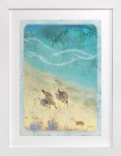 Shore Birds  Art Print