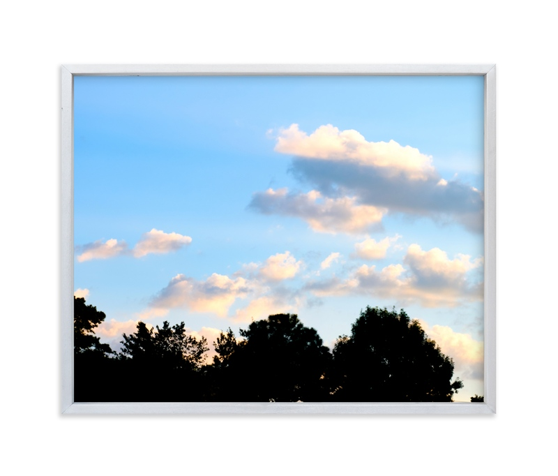 """""""Treetops"""" - Art Print by Hannah Graham in beautiful frame options and a variety of sizes."""