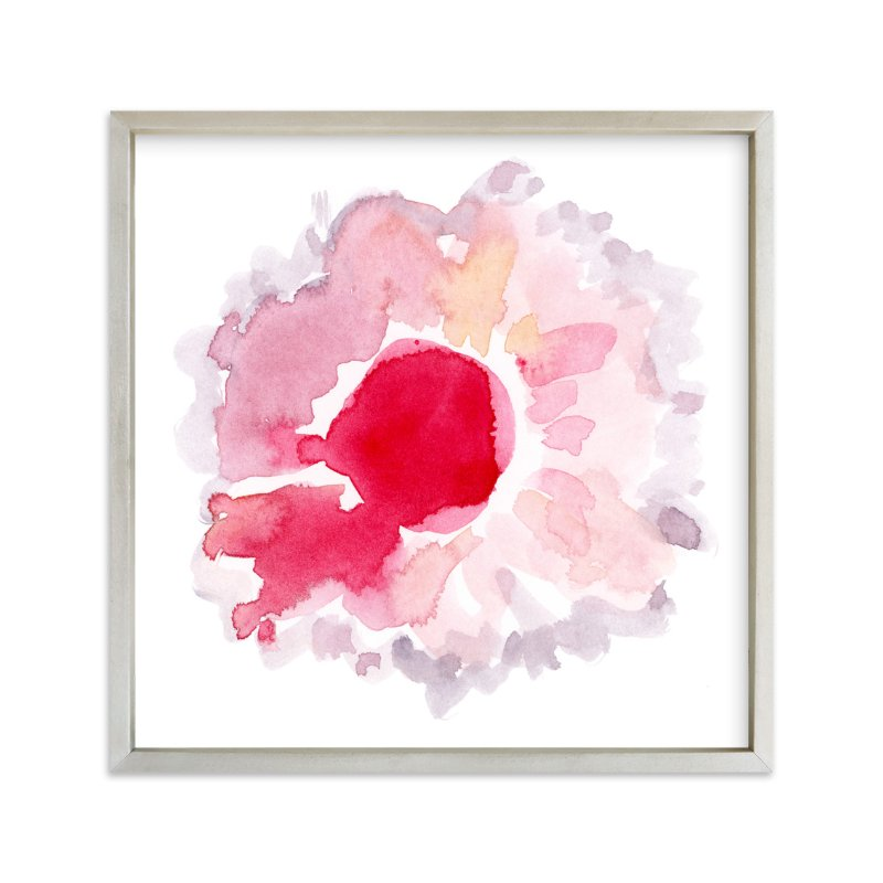 """""""Watercolor bloom"""" - Art Print by Yaling Hou Suzuki in beautiful frame options and a variety of sizes."""