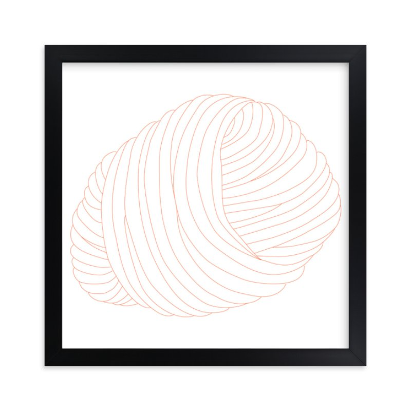 """""""Ball of Yarn"""" - Art Print by Gaucho Works in beautiful frame options and a variety of sizes."""