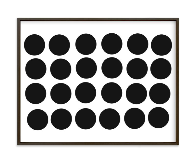 """""""Dots 1"""" - Art Print by Jaime Derringer in beautiful frame options and a variety of sizes."""