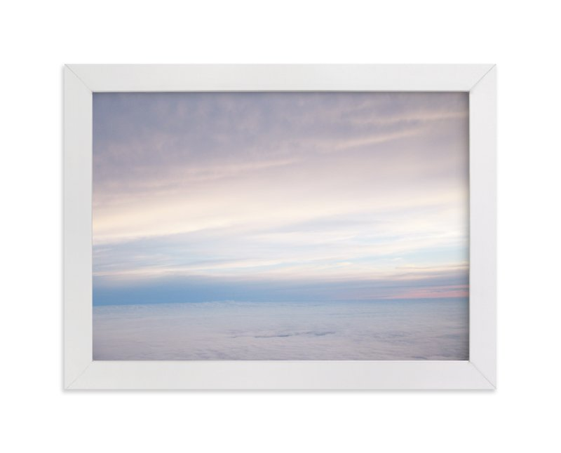 """High Above the Clouds"" - Art Print by Gray Star Design in beautiful frame options and a variety of sizes."