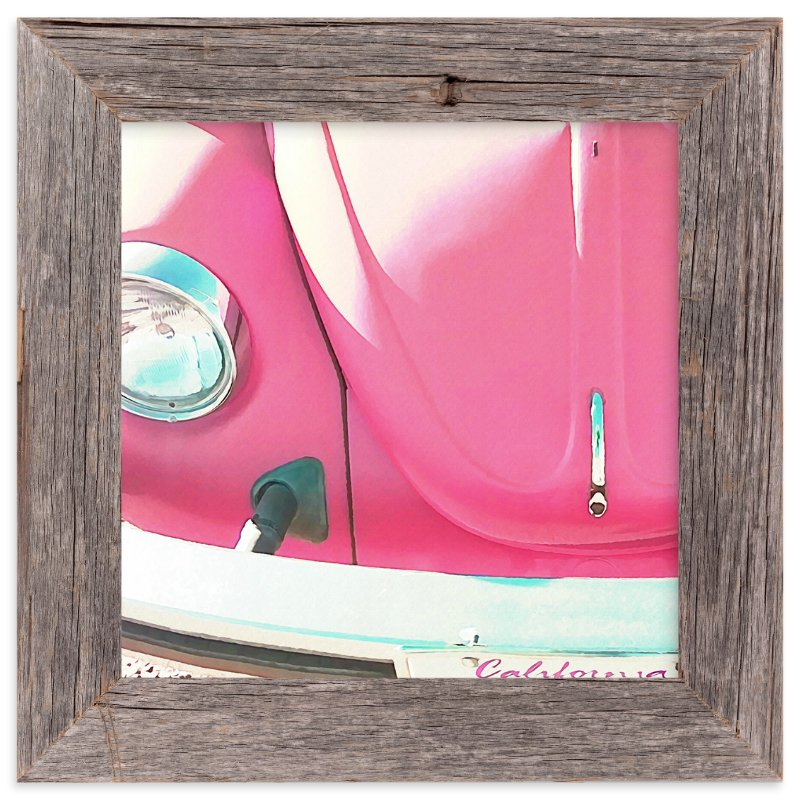 """Punch Buggy"" - Art Print by Skoodler Designs in beautiful frame options and a variety of sizes."
