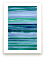 Stripes du Jour #1 by Monica Janes Fine Art