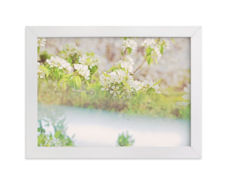 """""""divergent blossoms II"""" - Art Print by Naomi Ernest in beautiful frame options and a variety of sizes."""