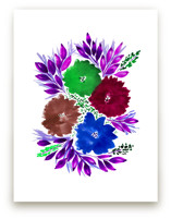 HAND PAINTED FLOWERS_4H by aticnomar
