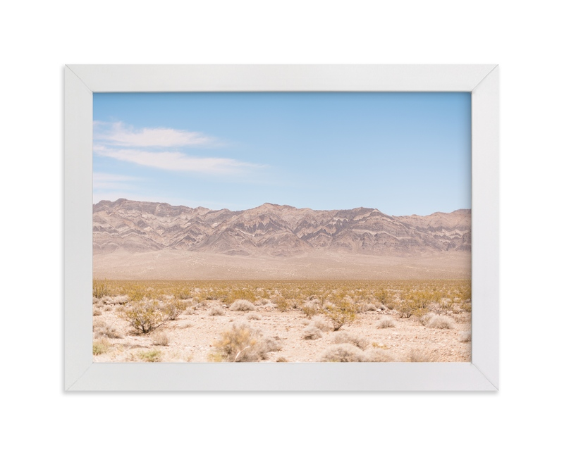 """Desert Foothills"" - Art Print by Anna Western in beautiful frame options and a variety of sizes."