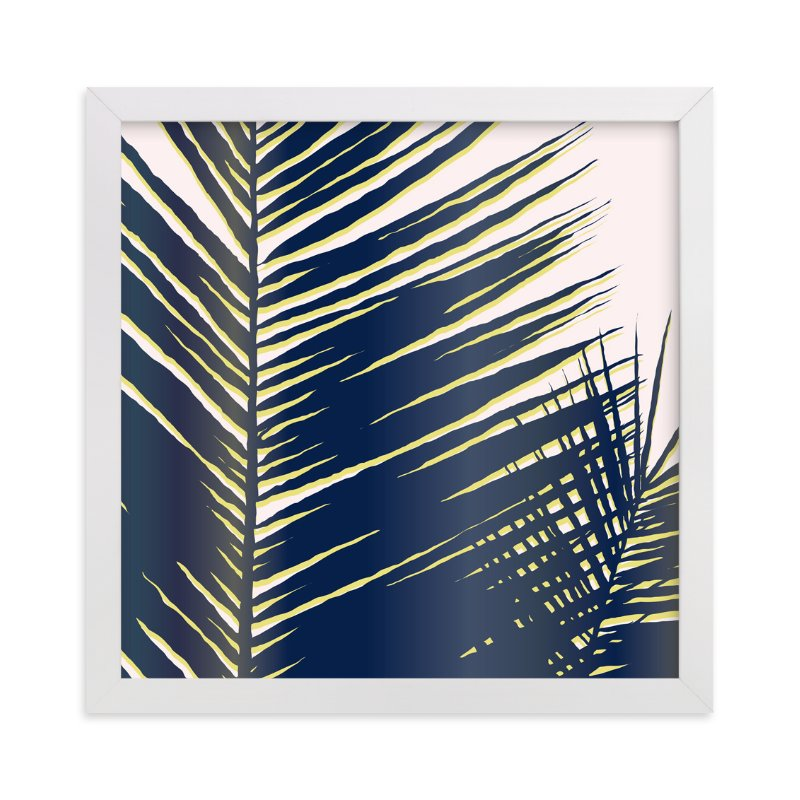 """Palm Study #4"" - Art Print by Cindy Lackey in beautiful frame options and a variety of sizes."