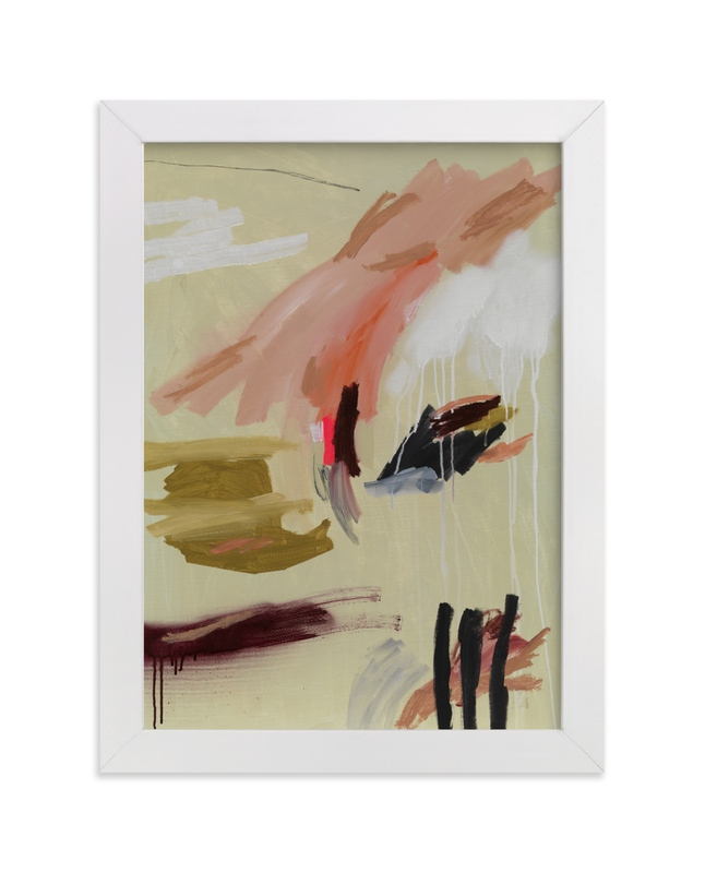 """""""Grab Back"""" - Art Print by Lauren Packard in beautiful frame options and a variety of sizes."""