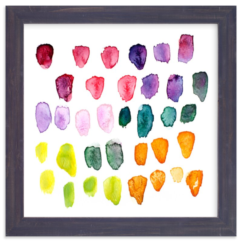 """Watercolor Study"" - Art Print by Stacy Kron in beautiful frame options and a variety of sizes."